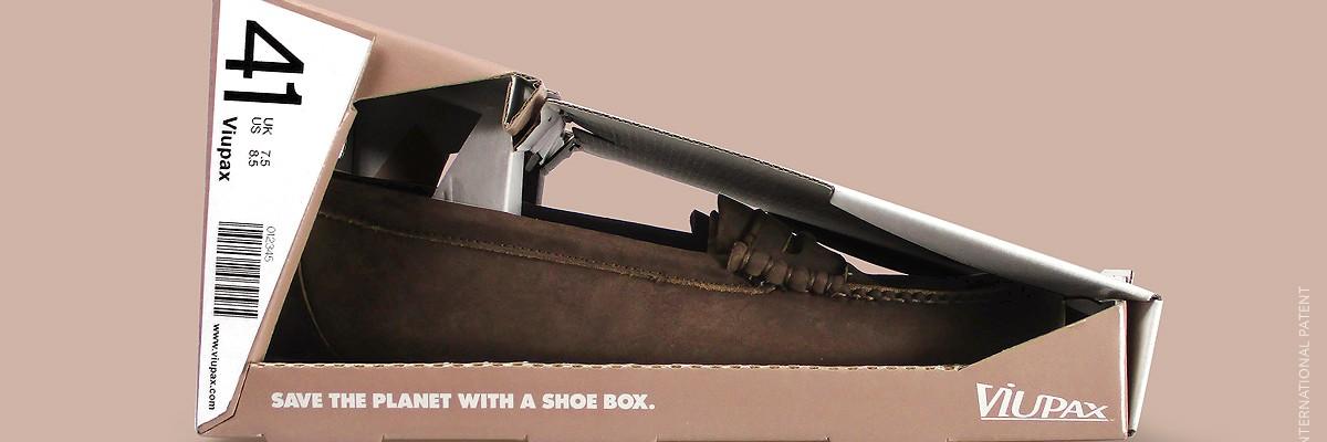 지구를 생각한 신발 패키지 'VIUPAX'