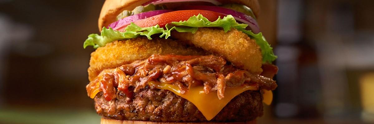 고기를 '곤충'으로 대신한 햄버거