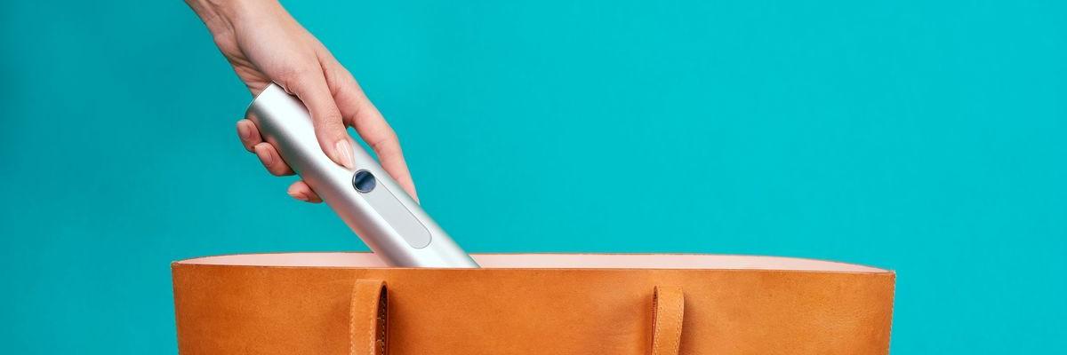 환경을 위한 청결한 선택! 휴대용 비데 '소니'