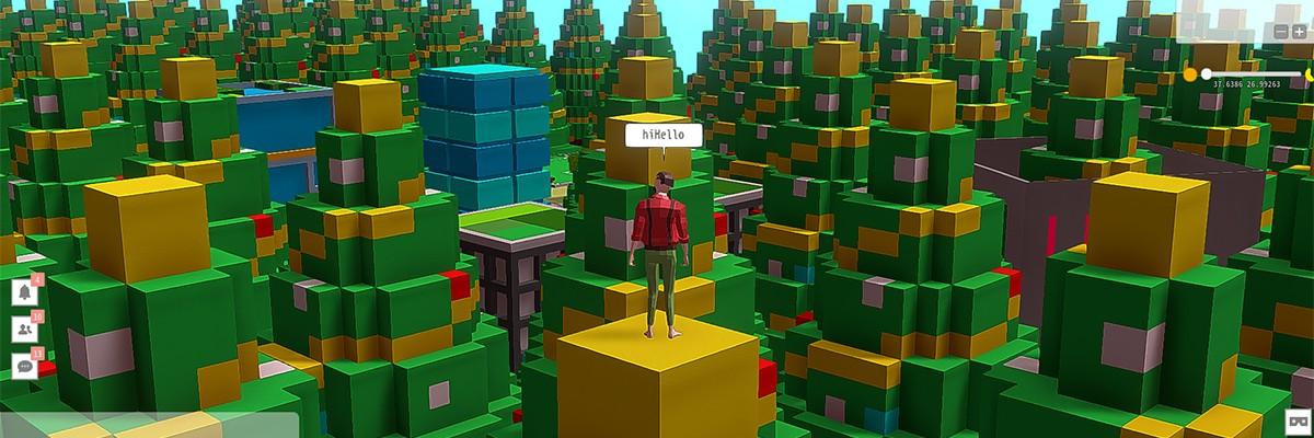 3D 아바타 중심의 VR 소셜플랫폼 '360헥사월드'