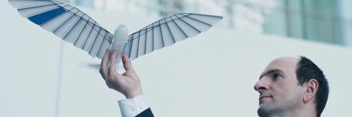 자율 비행이 가능한 새 로봇 '바이오닉스위프트'