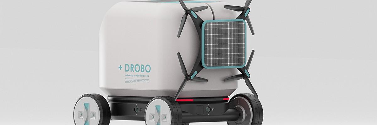 환자에게 직접 의약품을 배송하는 로봇 '드로보'